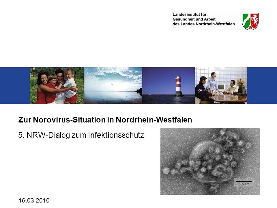 Zur Norovirus-Situation in Nordrhein-Westfalen