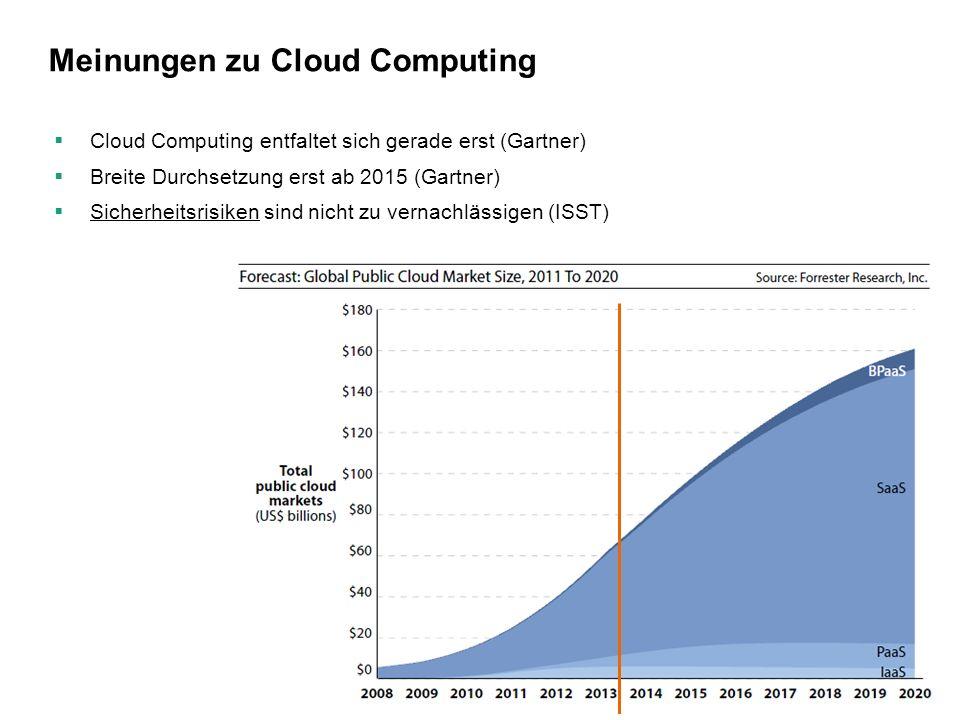 Meinungen zu Cloud Computing