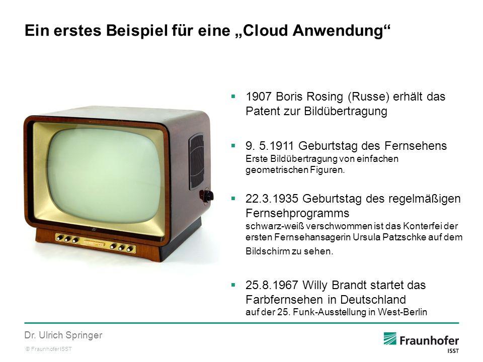 """Ein erstes Beispiel für eine """"Cloud Anwendung"""