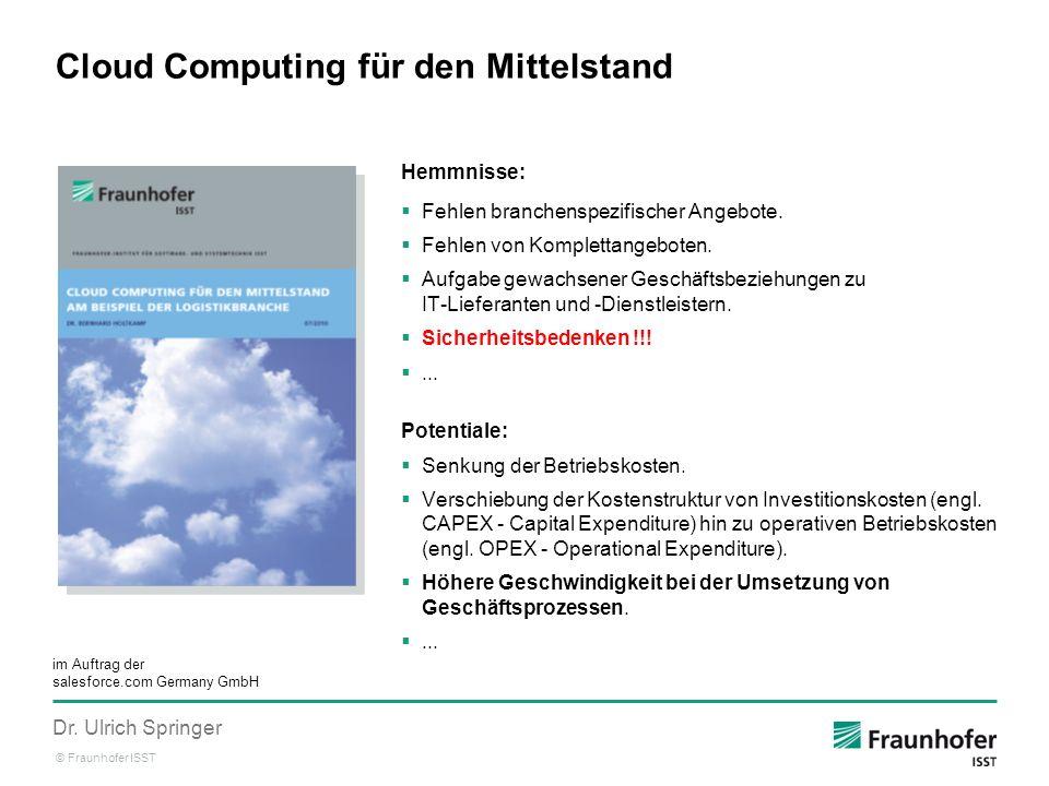 Cloud Computing für den Mittelstand