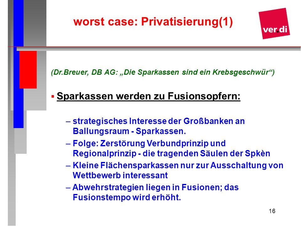 worst case: Privatisierung(1)