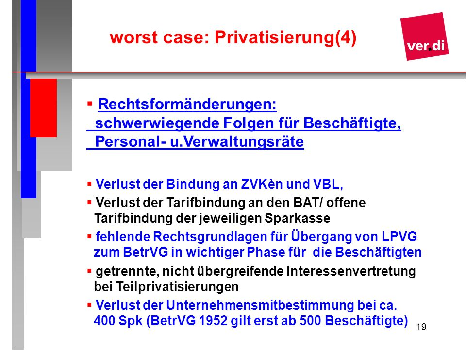 worst case: Privatisierung(4)