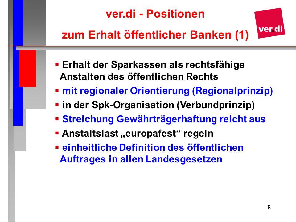 zum Erhalt öffentlicher Banken (1)
