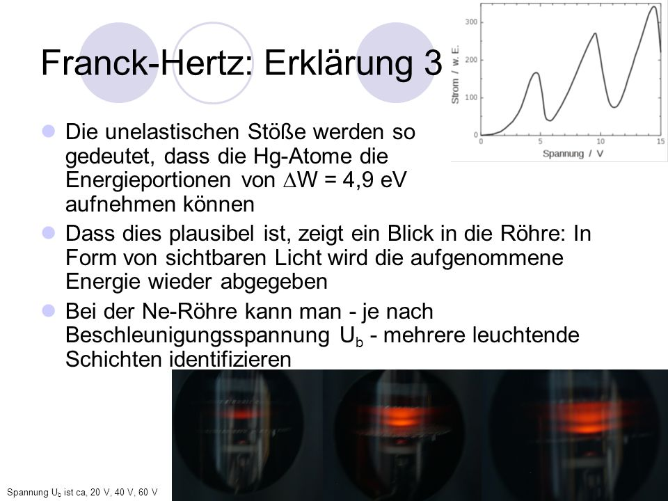 Franck-Hertz: Erklärung 3