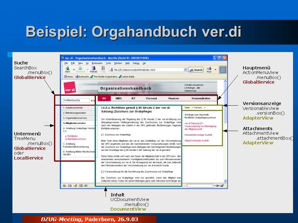 Beispiel: Orgahandbuch ver.di