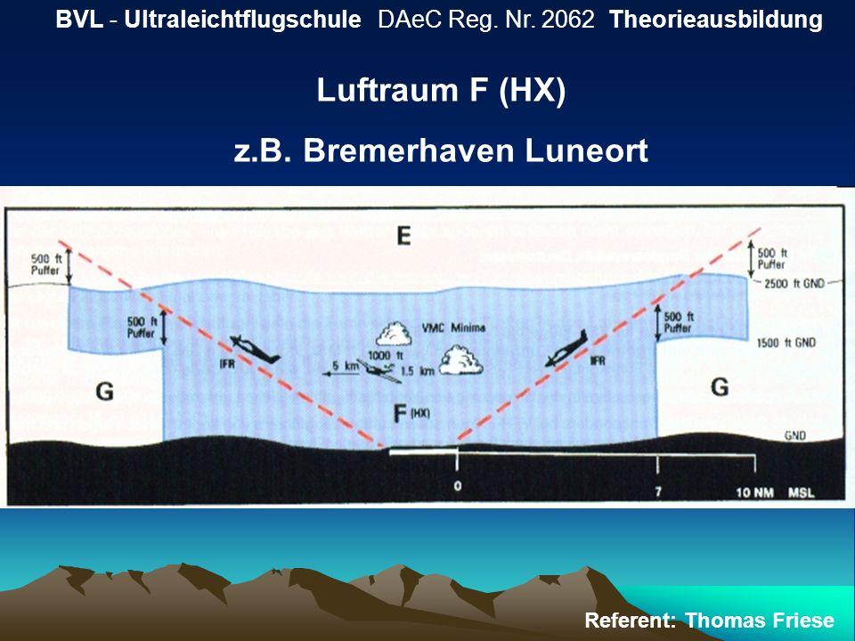 z.B. Bremerhaven Luneort