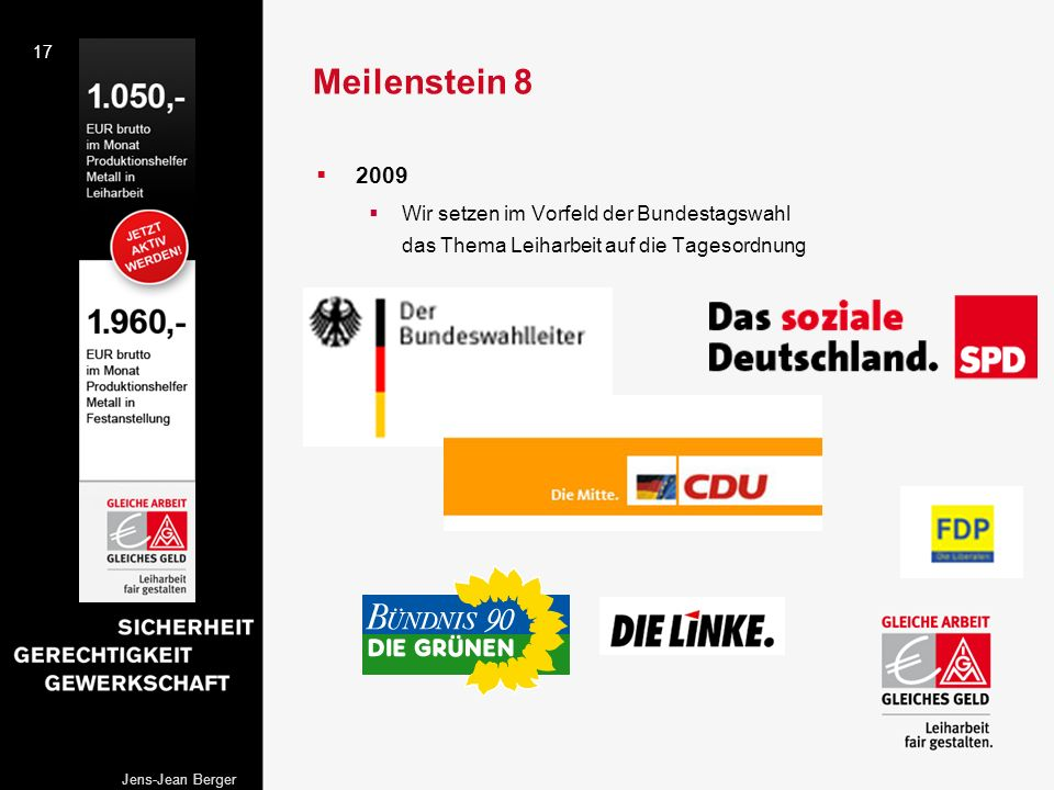 Meilenstein 8 2009.