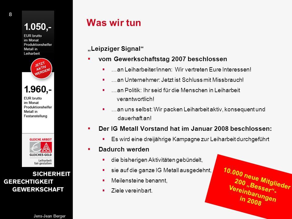 """200 """"Besser -Vereinbarungen"""