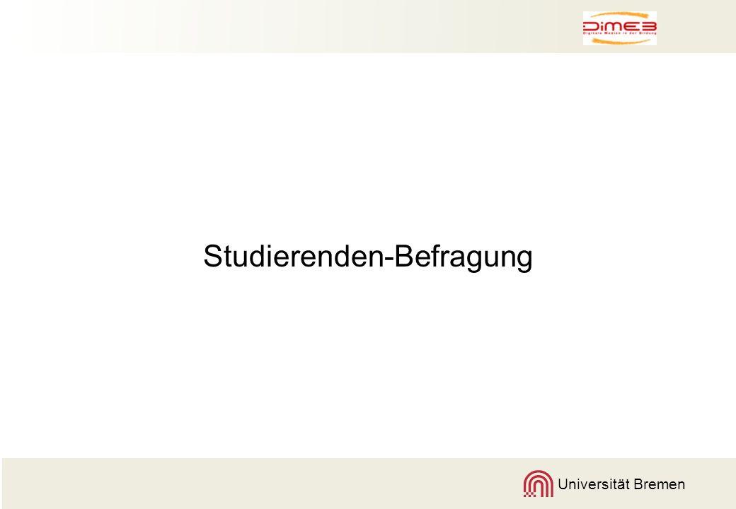 Studierenden-Befragung