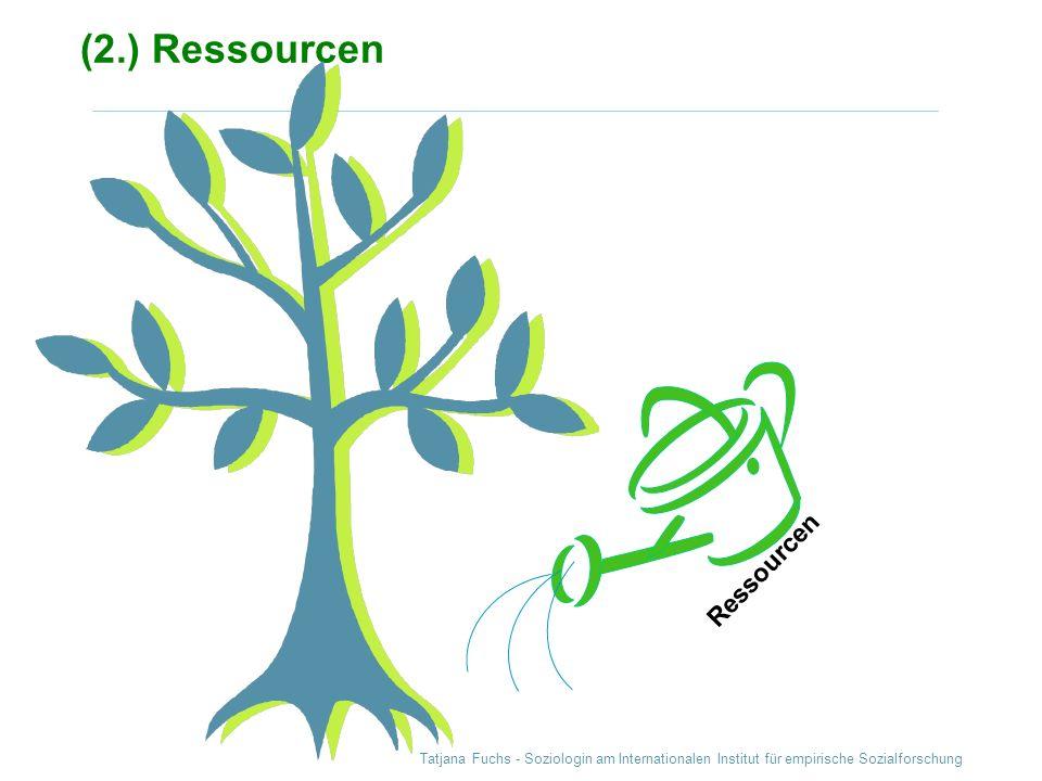 (2.) Ressourcen Ressourcen