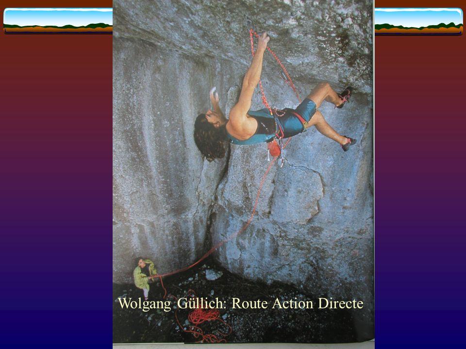 Wolgang Güllich: Route Action Directe
