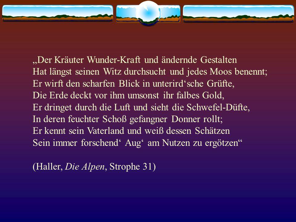 """""""Der Kräuter Wunder-Kraft und ändernde Gestalten"""