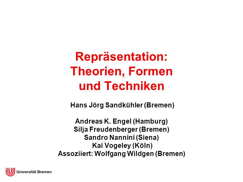 Repräsentation: Theorien, Formen und Techniken Hans Jörg Sandkühler (Bremen) Andreas K.