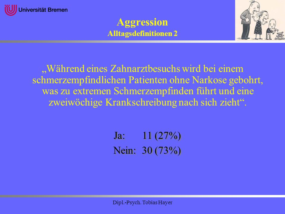 Aggression Alltagsdefinitionen 2