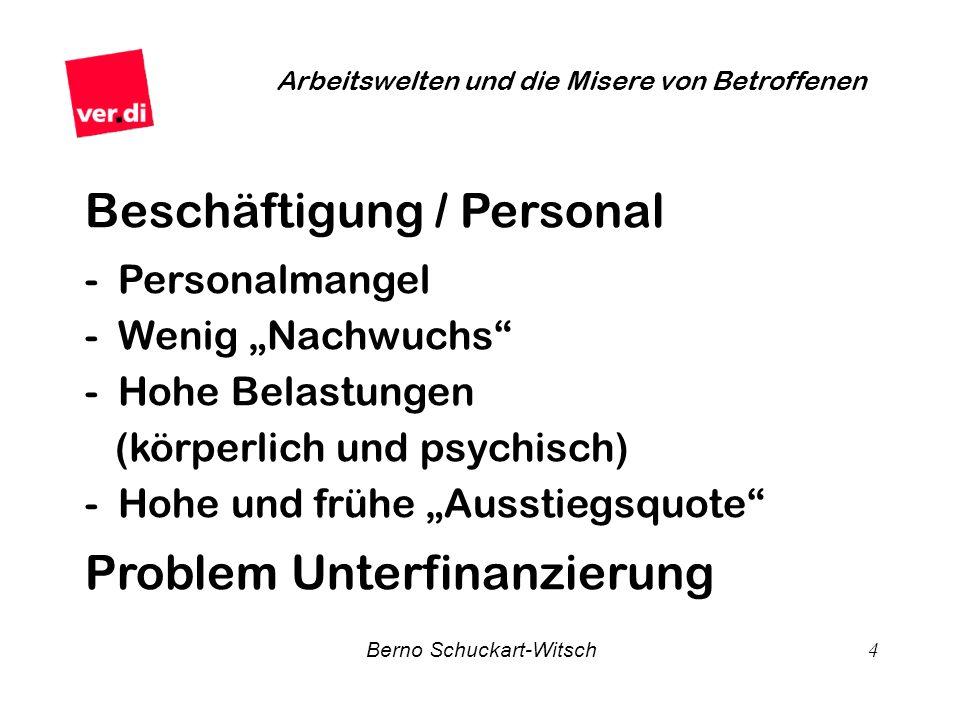 Beschäftigung / Personal