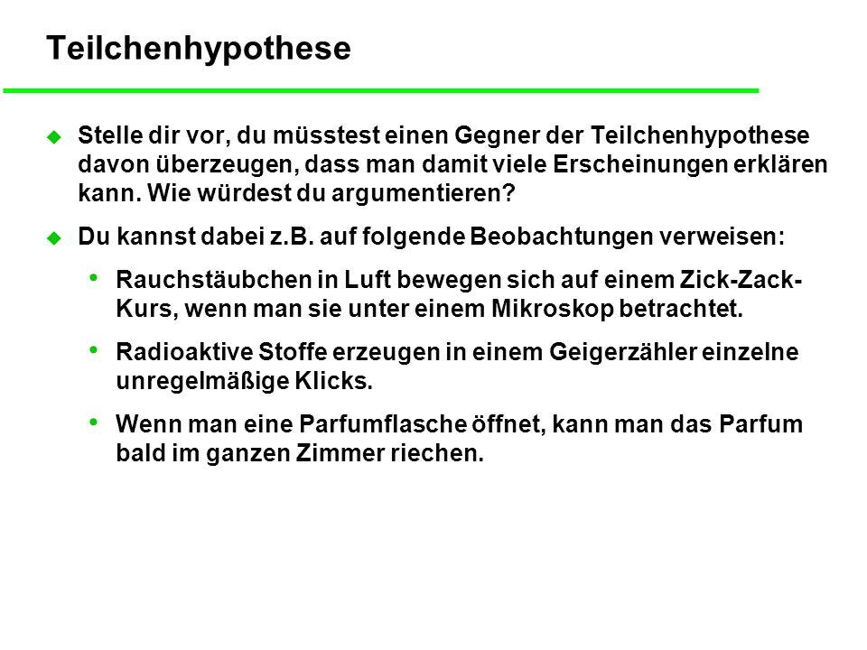 Teilchenhypothese