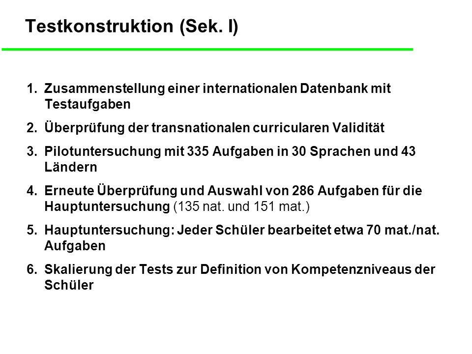 Testkonstruktion (Sek. I)