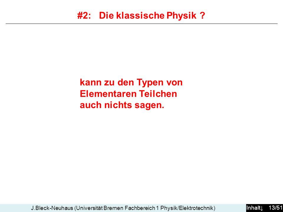 #2: Die klassische Physik