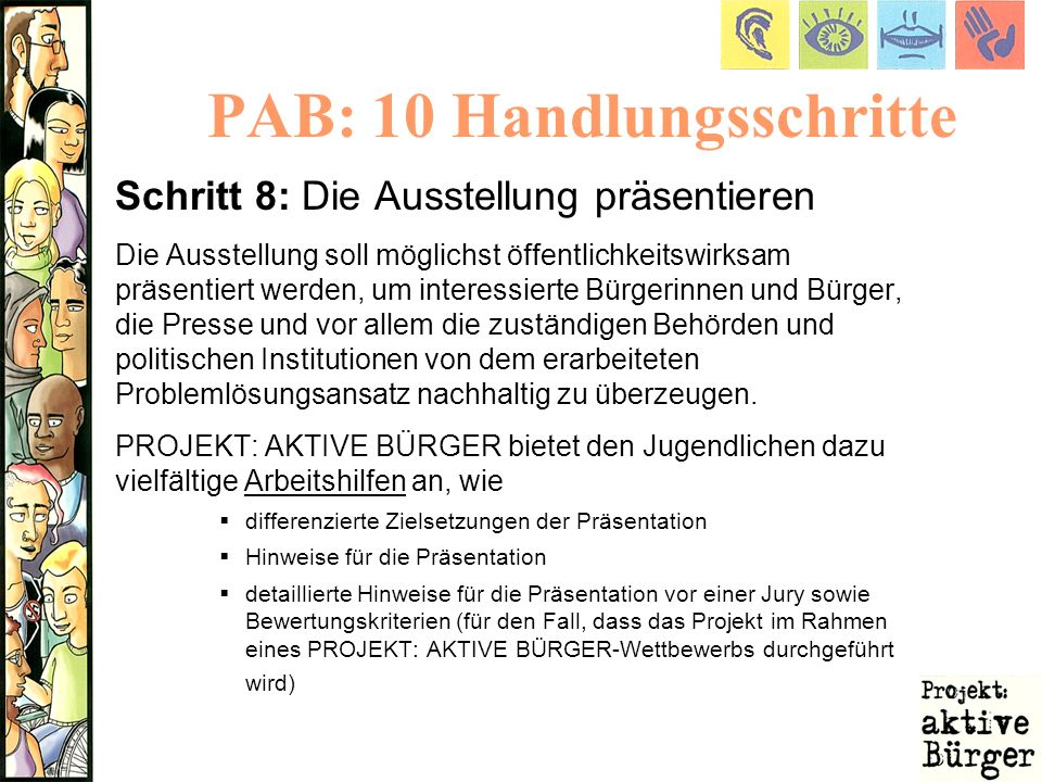 PAB: 10 Handlungsschritte