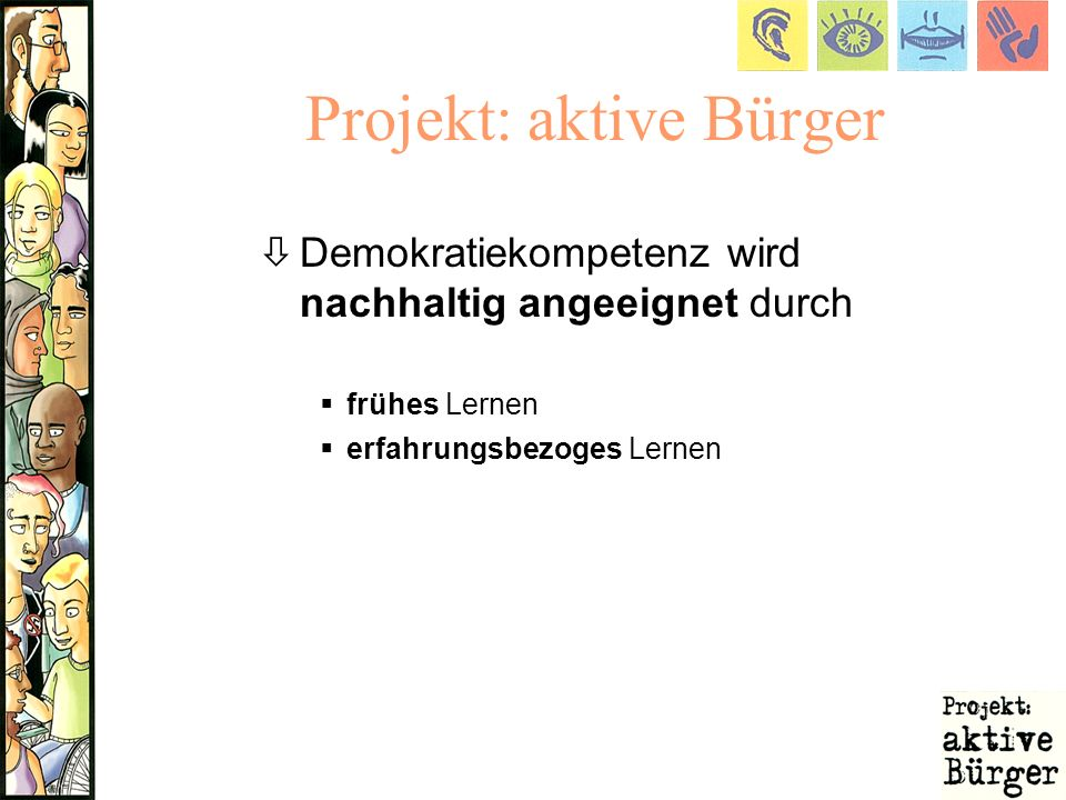 Projekt: aktive Bürger