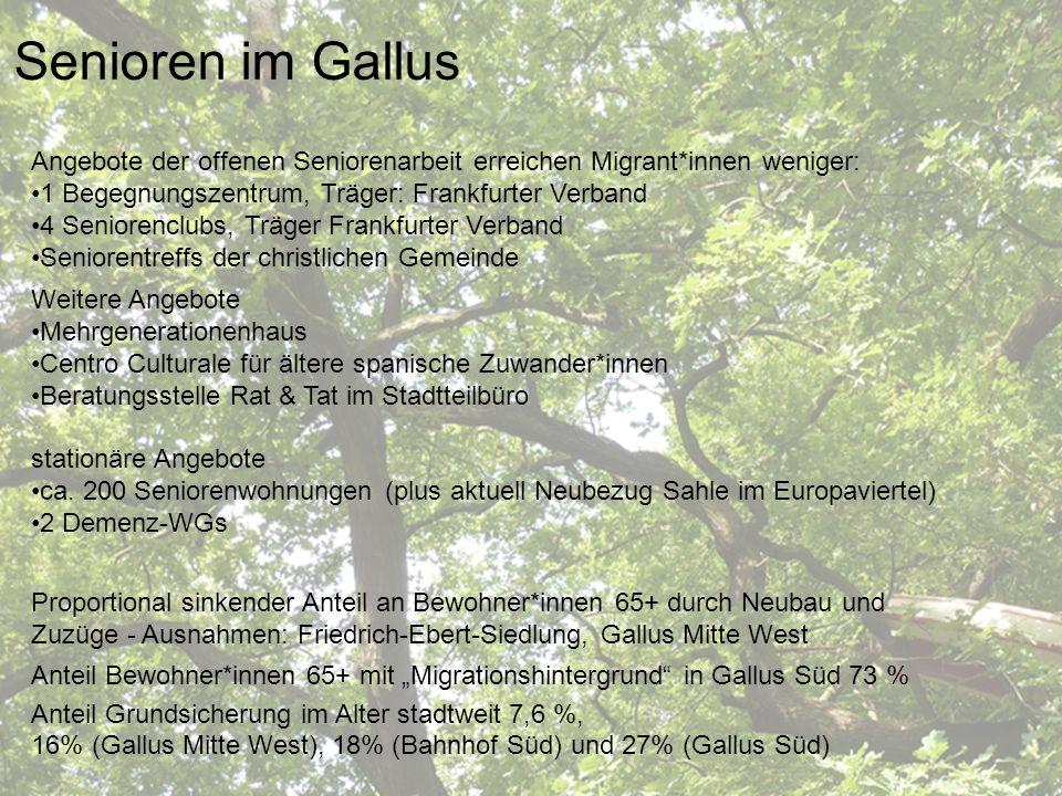 Sozialraum Gallus Senioren im Gallus
