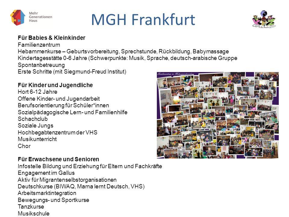 MGH Frankfurt Für Babies & Kleinkinder Familienzentrum