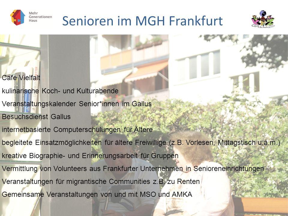 Senioren im MGH Frankfurt