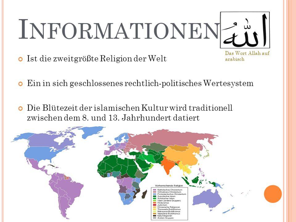 Informationen Ist die zweitgrößte Religion der Welt