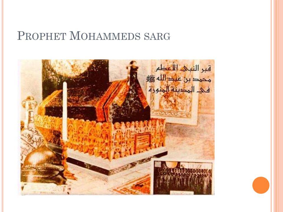 Prophet Mohammeds sarg