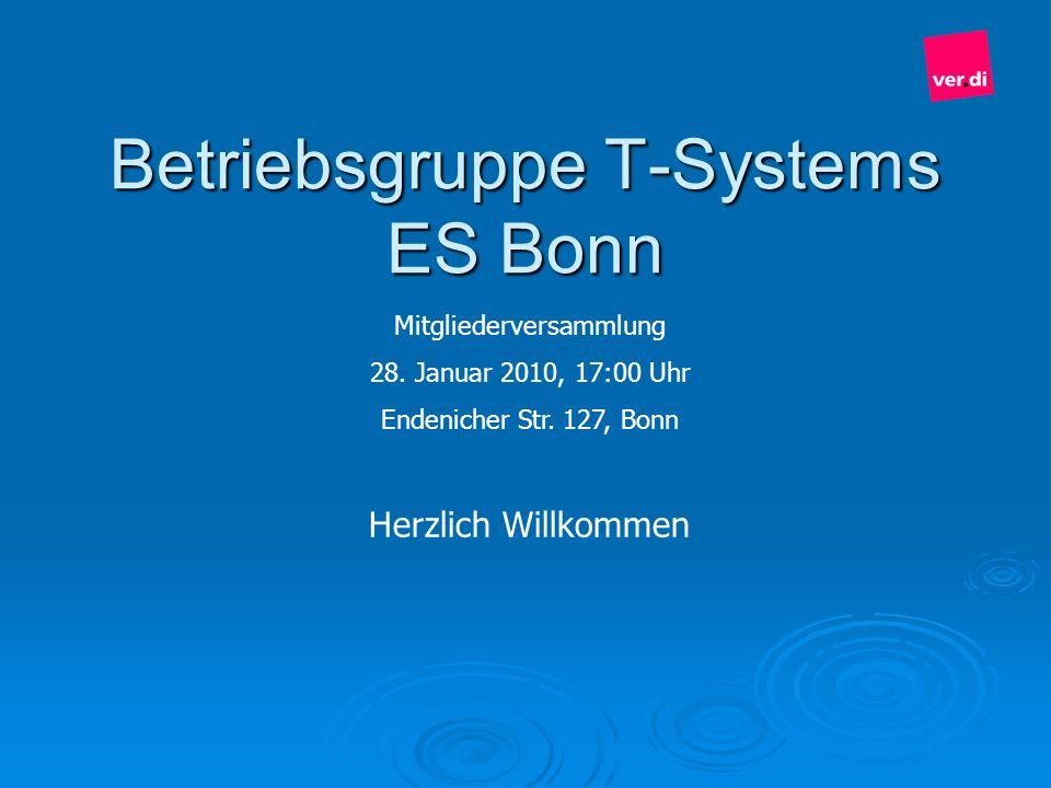 Betriebsgruppe T-Systems ES Bonn