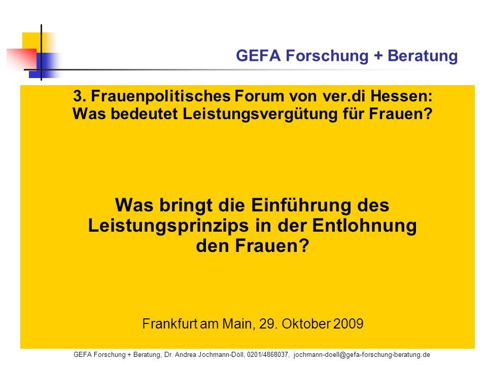 GEFA Forschung + Beratung