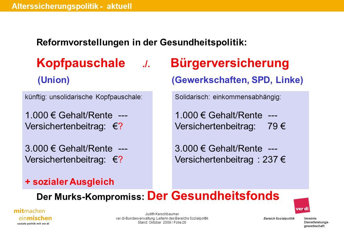 (Union) (Gewerkschaften, SPD, Linke)