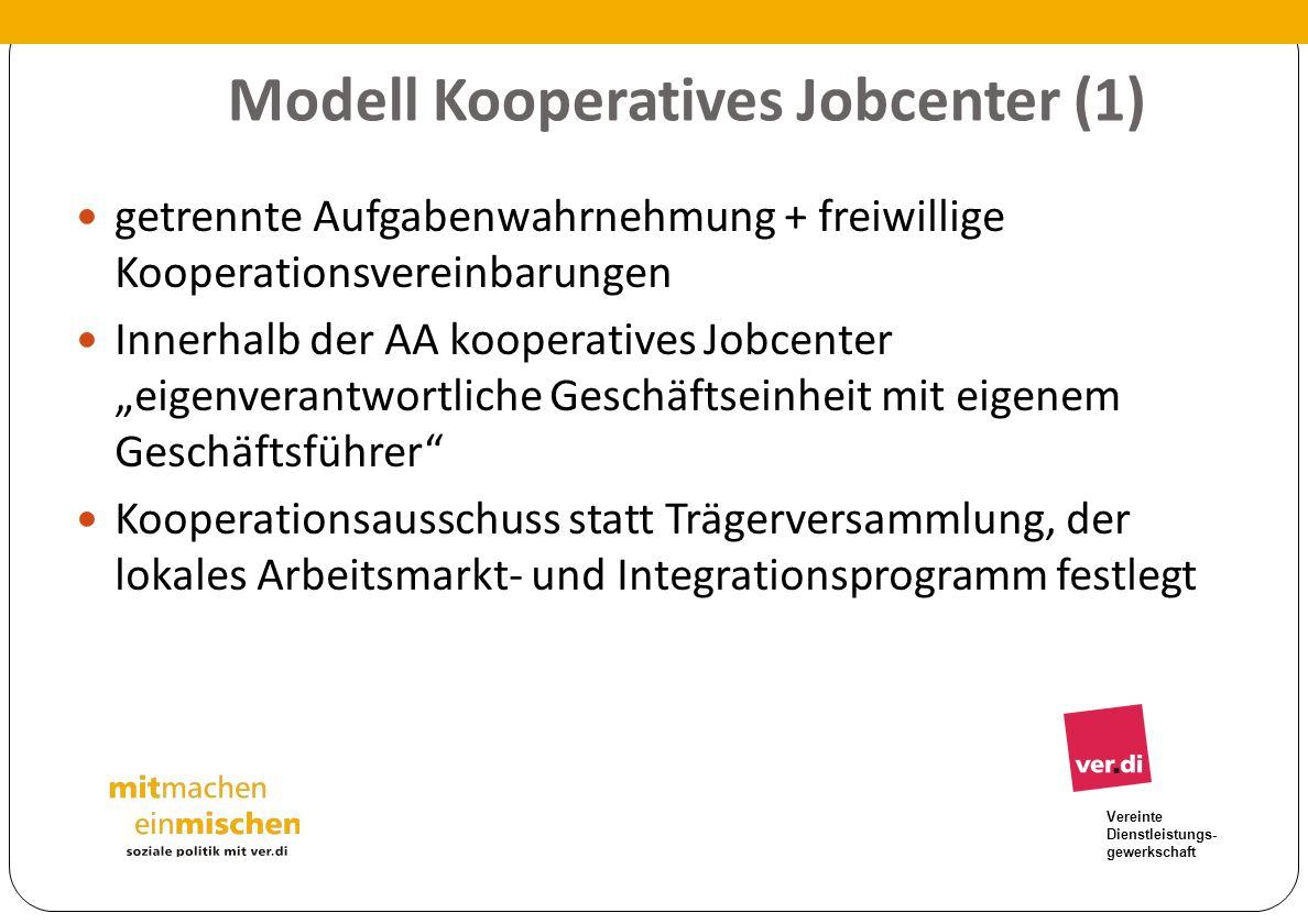 Modell Kooperatives Jobcenter (1)