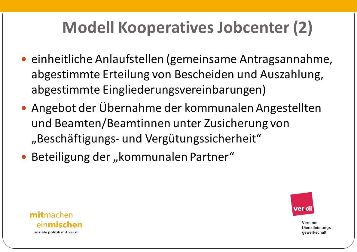 Modell Kooperatives Jobcenter (2)
