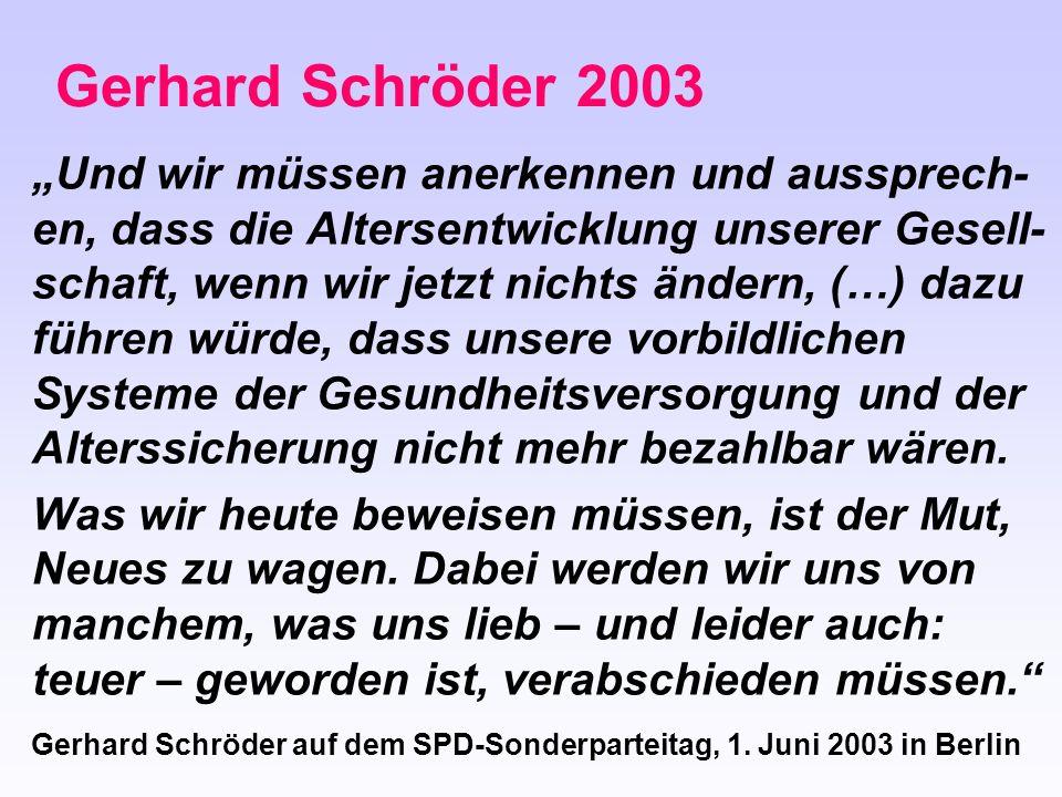 Gerhard Schröder 2003