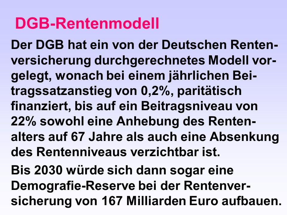 DGB-Rentenmodell