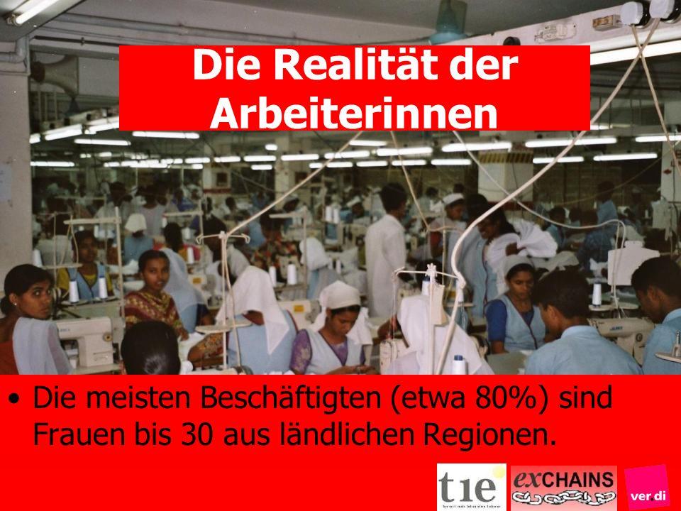 Die Realität der Arbeiterinnen