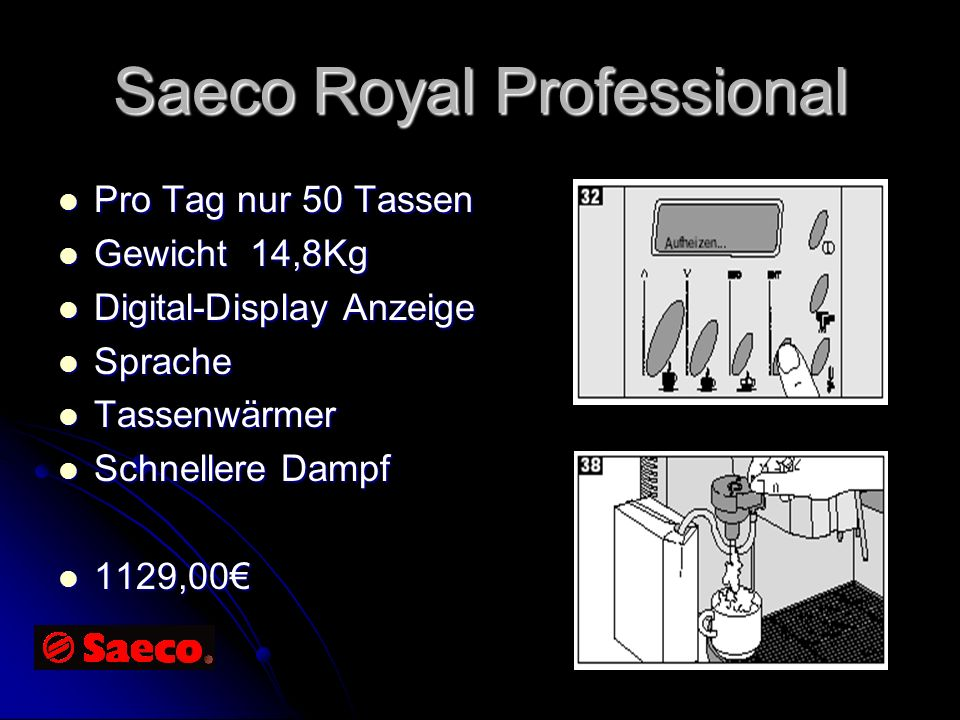Saeco Royal Professional
