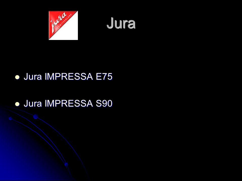 Jura Jura IMPRESSA E75 Jura IMPRESSA S90