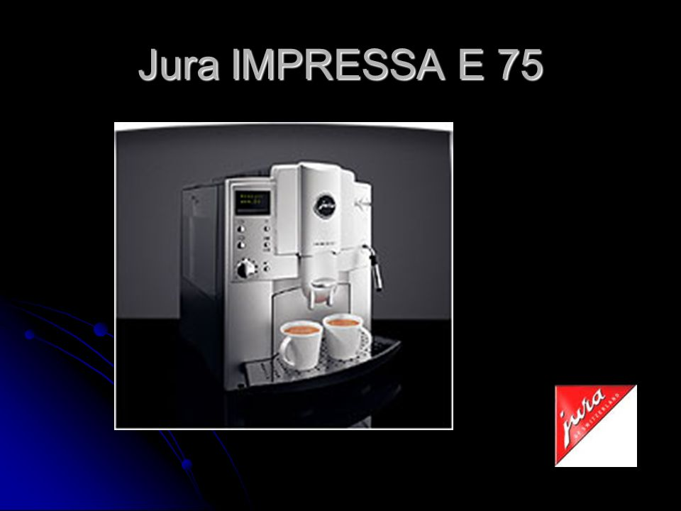 Jura IMPRESSA E 75