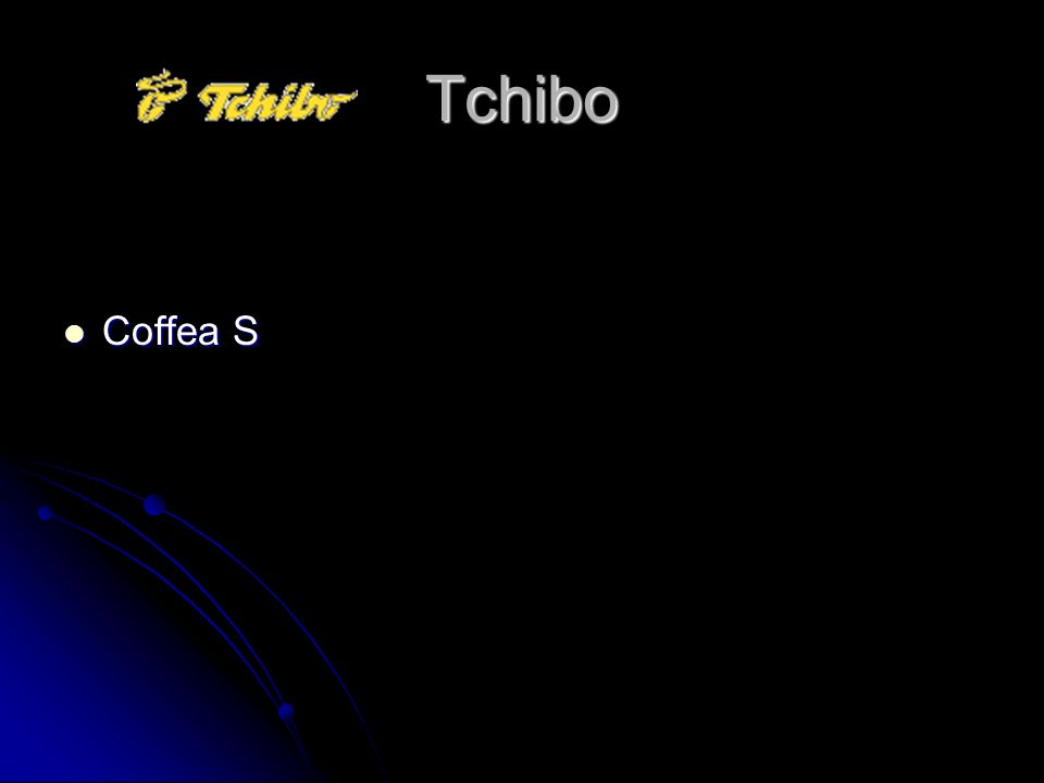 Tchibo Coffea S