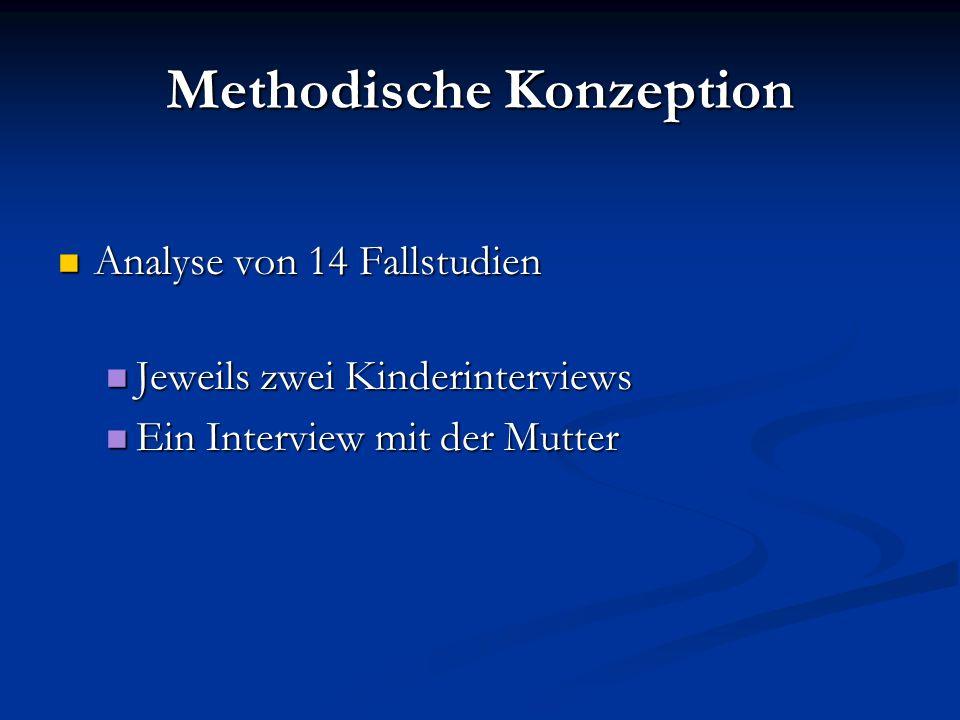 Methodische Konzeption