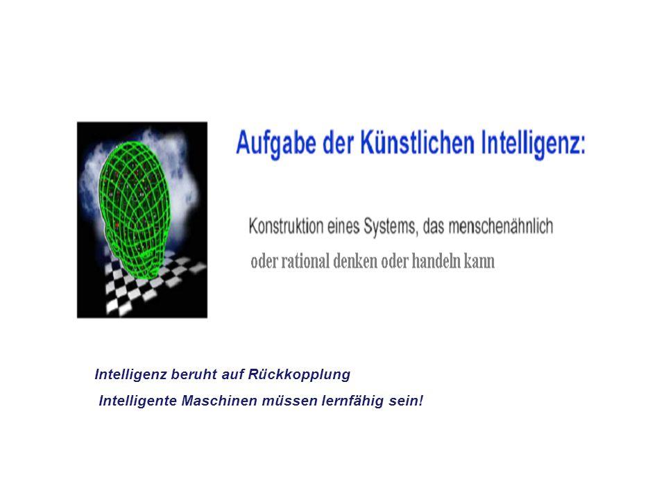 Intelligenz beruht auf Rückkopplung