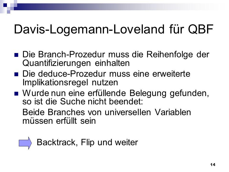 Davis-Logemann-Loveland für QBF