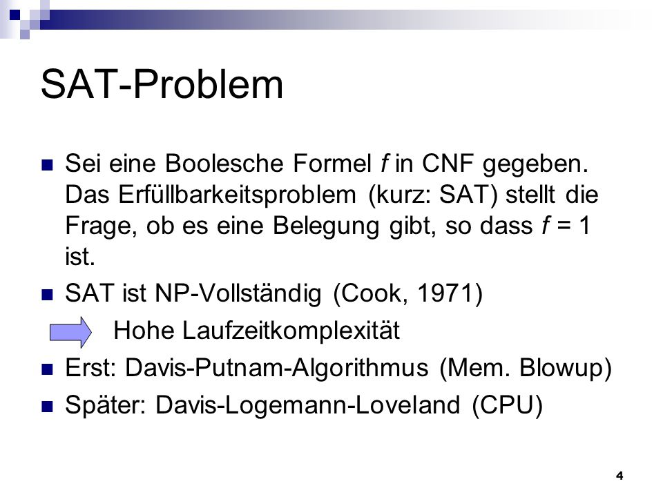 SAT-Problem