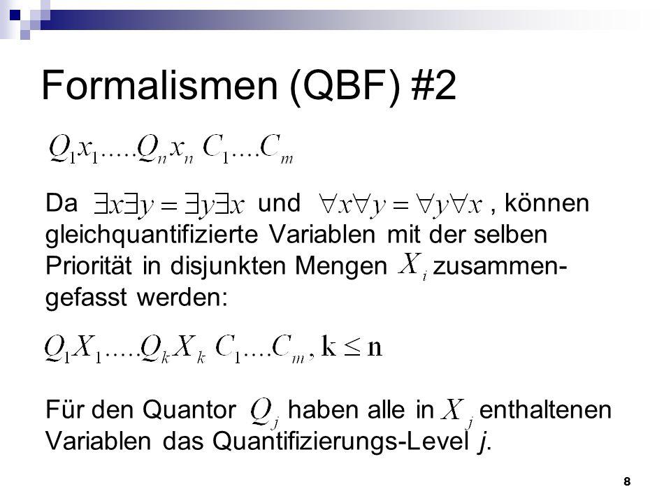 Formalismen (QBF) #2