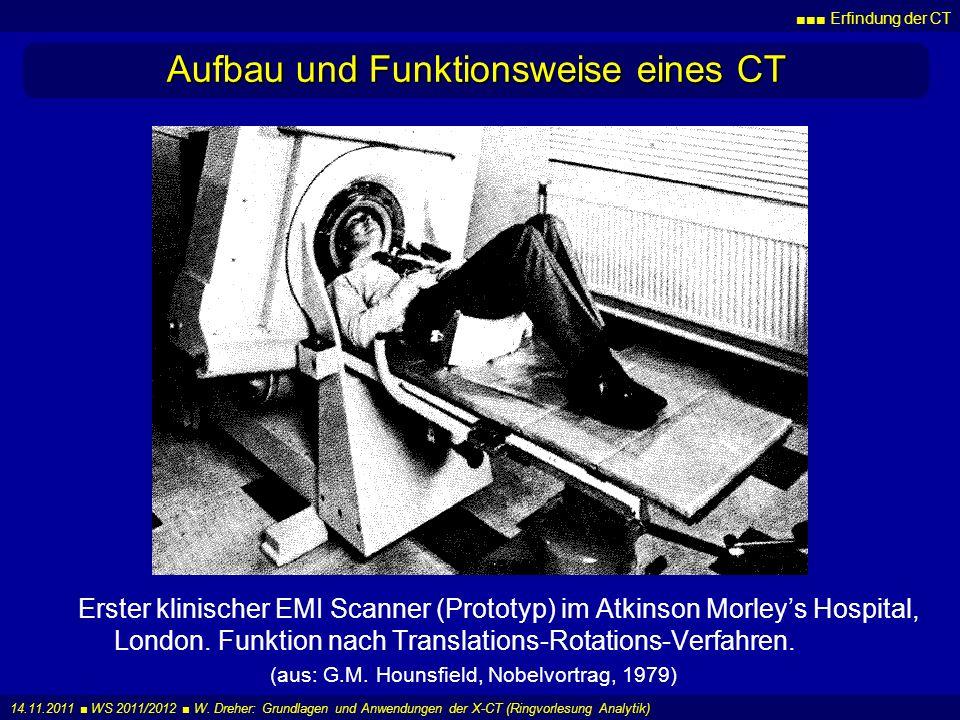 Aufbau und Funktionsweise eines CT
