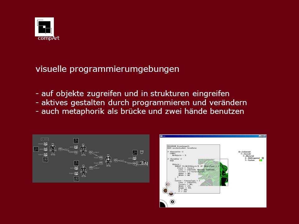 visuelle programmierumgebungen