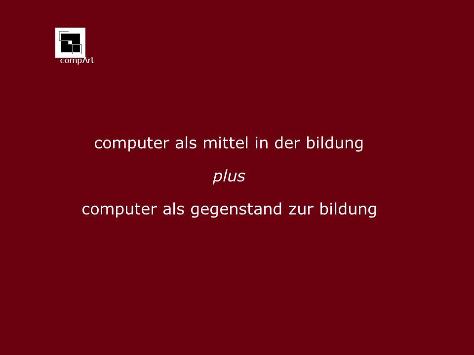computer als mittel in der bildung plus