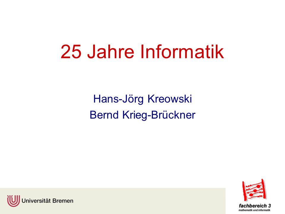 Hans-Jörg Kreowski Bernd Krieg-Brückner